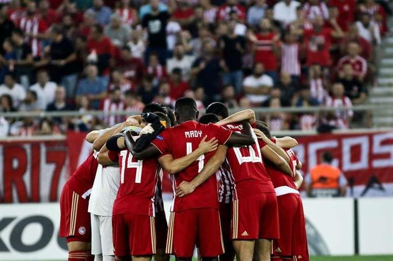 El Olimpiacos vence al Atromitos. EFE