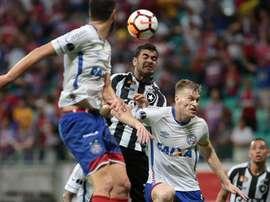 Botafogo empató con Ceará. EFE