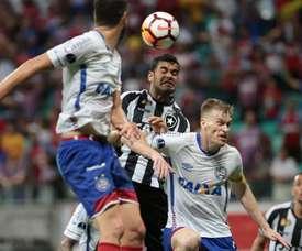 Bahía irá con ventaja al partido del vuelta. EFE