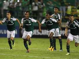 Deportivo Cali ya es noveno con 23 puntos, a sólo dos de la Liguilla. EFE