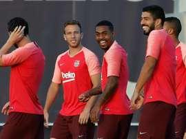 Malcom regresa a lista del Barça. EFE
