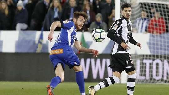 Ibai Gómez cumple contrato con el Alavés en junio de 2019. EFE/Archivo