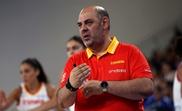 Lucas Mondelo, entrenador de la selección femenina de baloncesto. EFE/Archivo