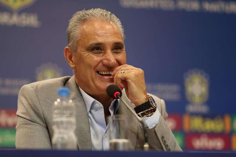 Tite, con la mente puesta en la Copa América 2019. EFE/Archivo