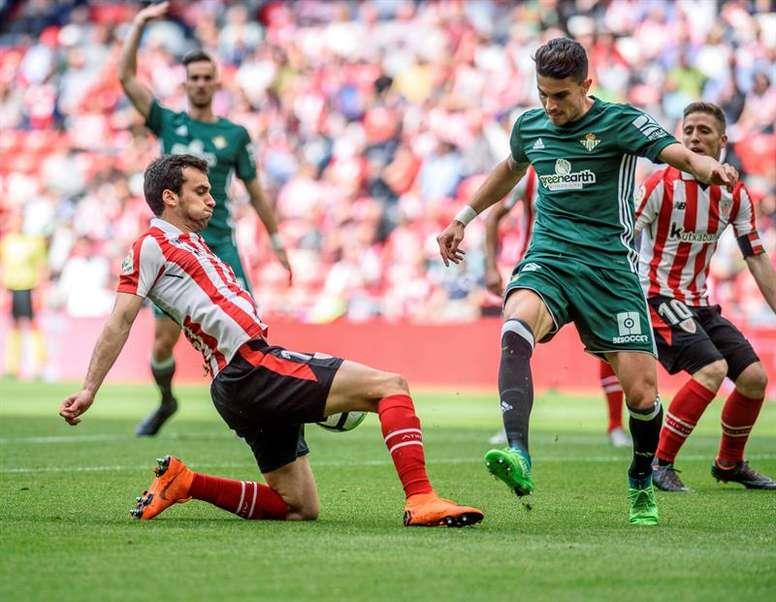 Lekue, novedad en el duelo entre Athletic y Atlético. EFE