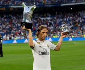 Modric won FIFA's The Best award. EFE
