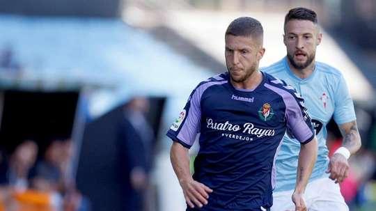 El Valladolid marcó por fin. EFE