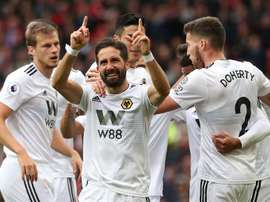 Les 'Wolves' continuent de surprendre en Premier League. EFE