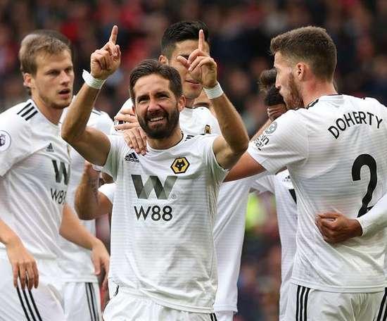 Wolverhampton Wanderers' Joao Moutinho. EFE/EPA