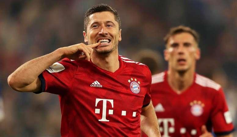 Lewandowski could have left Bayern. EFE