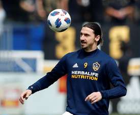 Los Angeles Galaxy Zlatan Ibrahimovic. EFE/Archivo