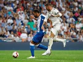 Escalações oficiais de Real Madrid e Espanyol pela 16ª rodada de LaLiga. EFE