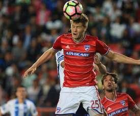 Zimmermann anotó los dos goles. EFE/Archivo