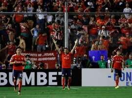 Las cuatro lesiones no frenaron a Independiente. EFE