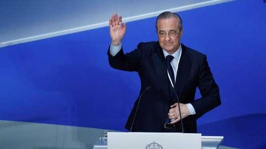 Real Madrid, Florentino Pérez 2017-18. EFE
