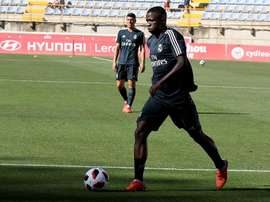 Vinicius pode estrear na Champions League. EFE