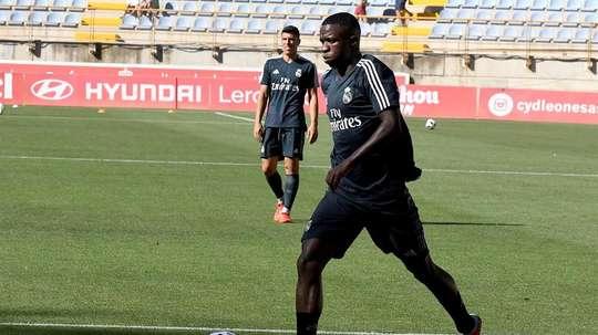 Vinicius Junior Real Madrid Castilla. EFE