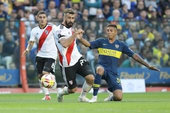Boca Juniors recuperará a sus lesionados de cara al choque ante Patronato. EFE