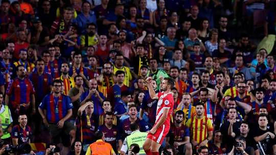 Girona's game with Barcelona in January is set to be played in the US. EFE