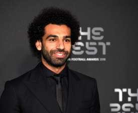 Salah won the Puskás award for his goal against Everton. EFE