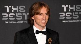 Modric, orgulloso del Mundial de Rusia. EFE