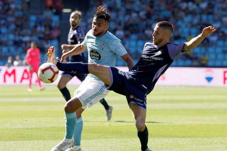 Boufal no completó el entrenamiento y podría perderse el choque contra el Valencia. EFE