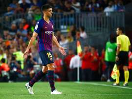 Lenglet bagged the winner. AFP
