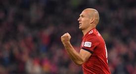 Robben ne retournera pas aux Pays-Bas. EFE
