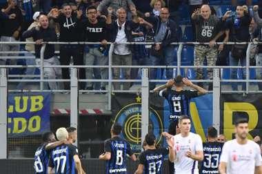 Icardi se estrenó en esta Serie A. EFE