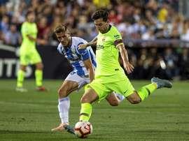 Les compos probables du match de Liga entre le Barça et Leganes. EFE