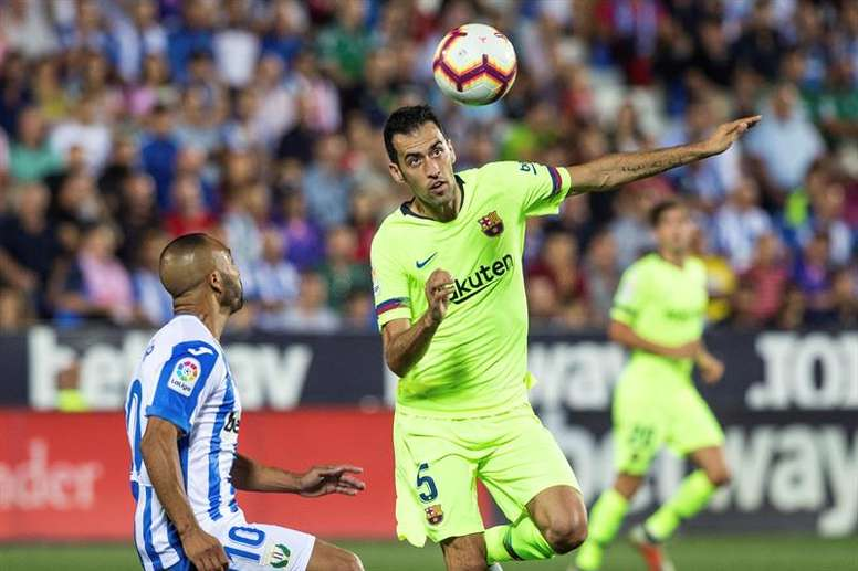 Busquets thinks that Barca can still improve ahead of the Super Cup. EFE