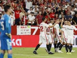 Sevilla stunned Real Madrid. EFE