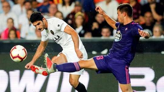 Guedes, objetivo de la Juventus. EFE