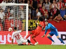 El Madrid, el Pizjuán y tres 3-0 con nada y mucho que ver. EFE