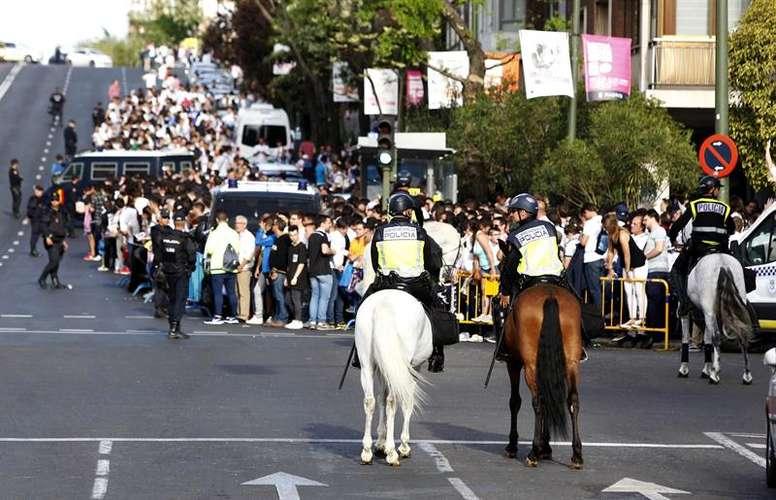 El dispositivo policial será de unos 350 efectivos. EFE/Archivo