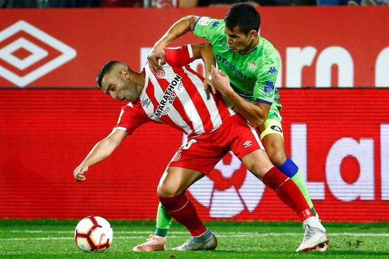 Borja García se lesionó hace ya más de dos meses. EFE
