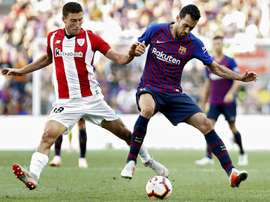 Pareggio Barça. AFP