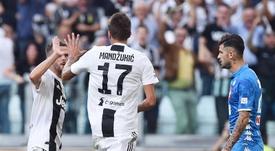Caressa su Mandzukic: 'Se resterà, diventerà un titolare della Juventus'. EFE