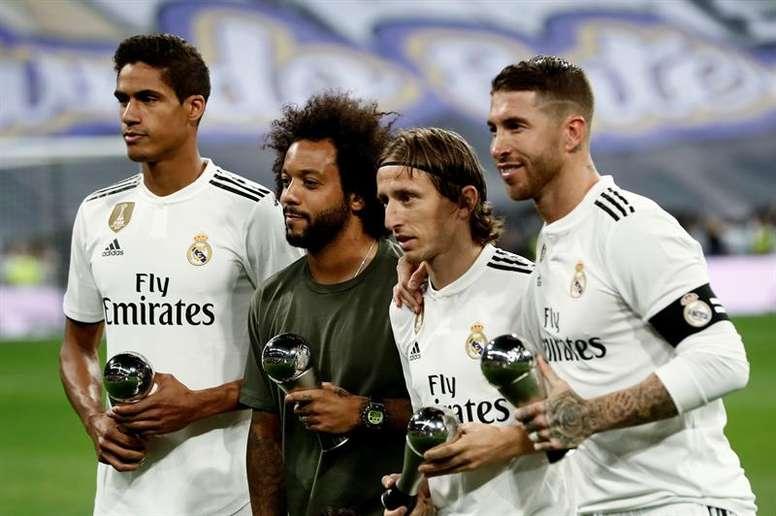 Luka Modric y Marcelo podrían dejar el Real Madrid. EFE