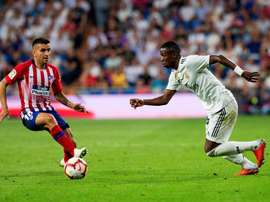 Vinicius wanted to play regular football. EFE