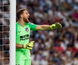 Oblak and Atelti's defence have excelled again this season. EFE