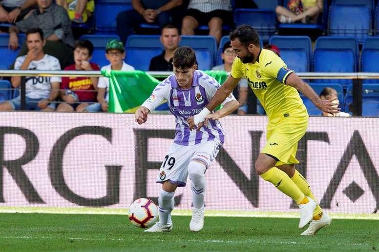 Toni Villa es una de las sensaciones del sorprendente Valladolid. EFE/Archivo
