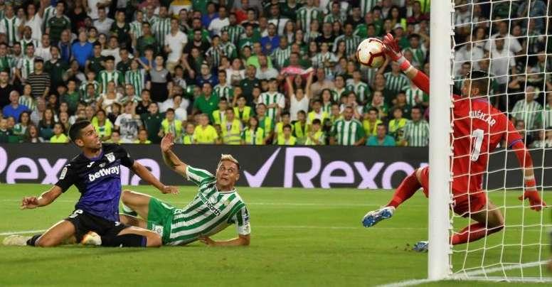Objetivos diferentes para Betis y Leganés. EFE