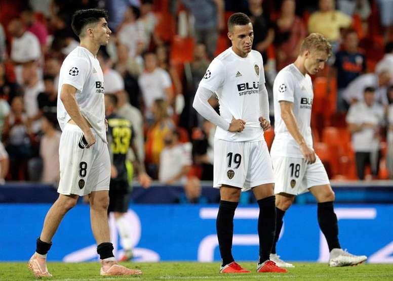 Rodrigo es duda para ir con España. EFE