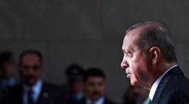 El presidente turco celebró el ahorro del país. EFE