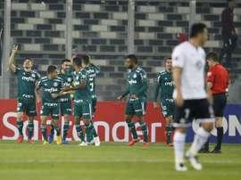 Palmeiras se qualifie. EFE