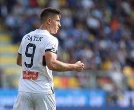 El polaco es el máximo goleador de la Serie A. EFE