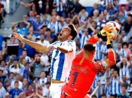 Mikel Merino estará disponible contra el Celta. EFE