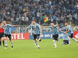 Grêmio se la juega contra Atlético Tucumán. EFE/Archivo