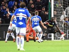 La Sampdoria volvió a ganar. EFE